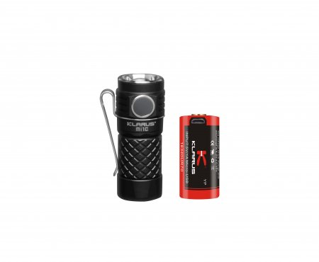 FLASHLIGHT EDC KLARUS Mi1C 600 LUMEN INCL BATTERY